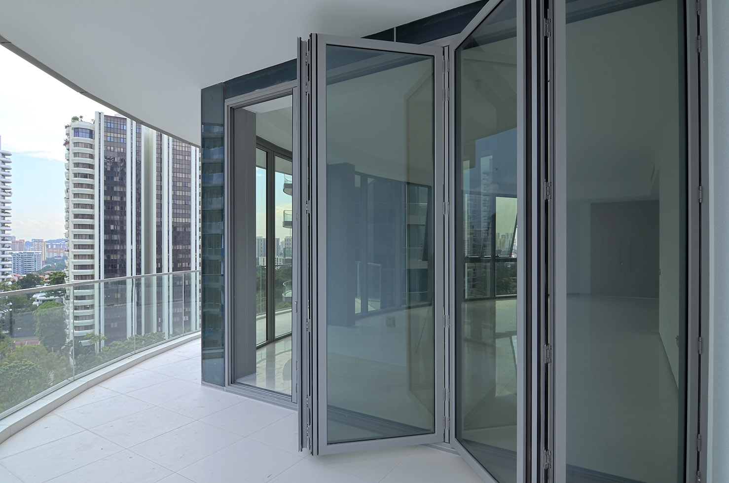 AVA Global offers this outstanding German brand for premium quality tailor-made folding glass doors. & AVA Global Pte Ltd